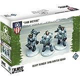 Dust Tactics Heavy Ranger Tank Hunter Squad: Tank Busters
