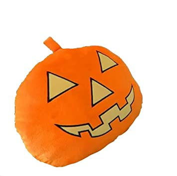 Amazon.com: Outflower Halloween Pumpkin Face Pillow Fruit ...