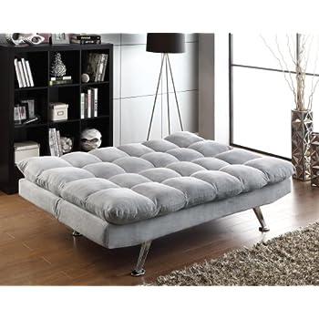 Amazon.com: Coaster Sofa Bed-Grey: Kitchen & Dining