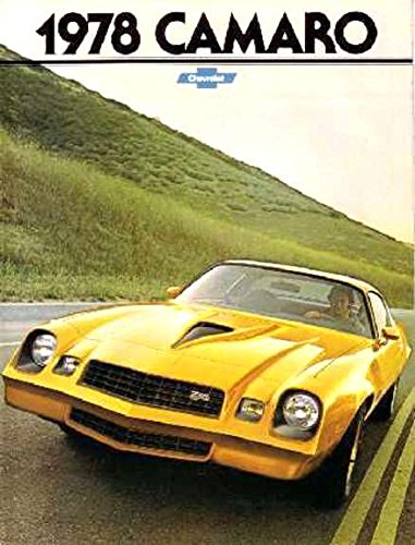Read Online FULL COLOR, HISTORIC 1978 CHEVY CAMARO BEAUTIFUL DEALERSHIP SALES BROCHURE - ADVERTISMENT Includes Z28 LT Luxury Touring, RS Rally Sport and Sport Coupe - CHEVROLET 78 PDF
