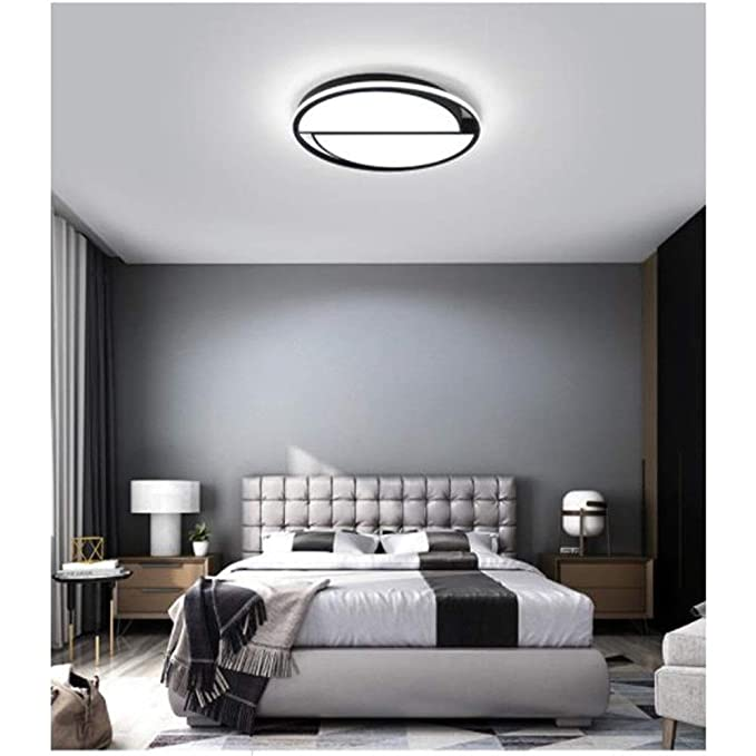Amazon.com: Ceiling light Geometric Slim Profile Disk LED ...