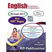 English for General Competitions Vol1 Paperback Jan 2017