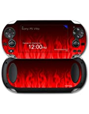 Sony PS Vita Skin Fire Red by WraptorSkinz