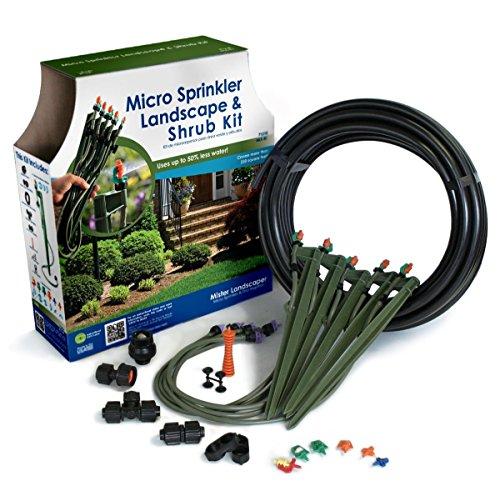 Drip Watering Landscape Kit - Mister Landscaper MLK-81 Micro Sprinkler Landscape & Shrub Drip Kit