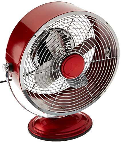 red retro fan - 6