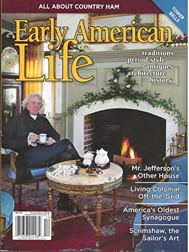 Early American Life Magazine December 2018 for sale  Delivered anywhere in USA