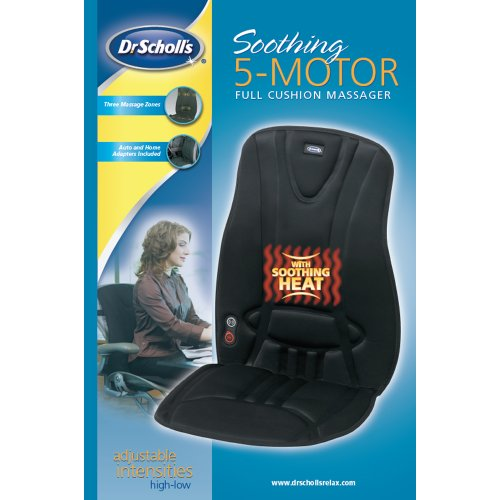 Dr-Scholls-Soothing-5-Motor-Full-Cushion-Massager