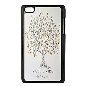Personalized Love Tree Ipod Touch 4 Case, Love Tree Customized Case for iPod Touch4 at Lzzcase
