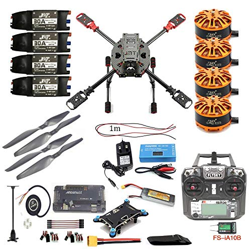 QWinOut J630 Full Set DIY 2.4GHz 4-Aixs RC Hexacopter 630mm Frame Kit APM2.8 Flight Controller with FS-i6X TX RX…