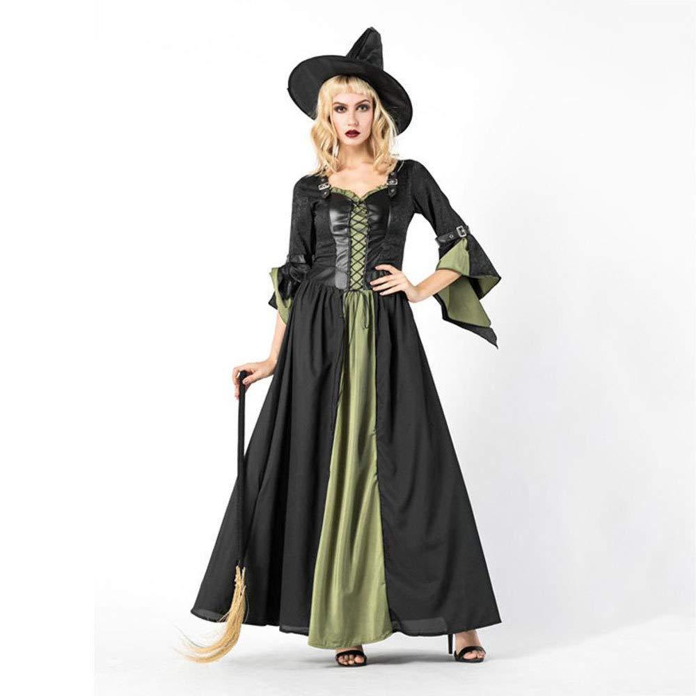 Ambiguity Halloween kostüm Damen Halloween Kostüm Cosplay Kostüm Party Hexenkostüm