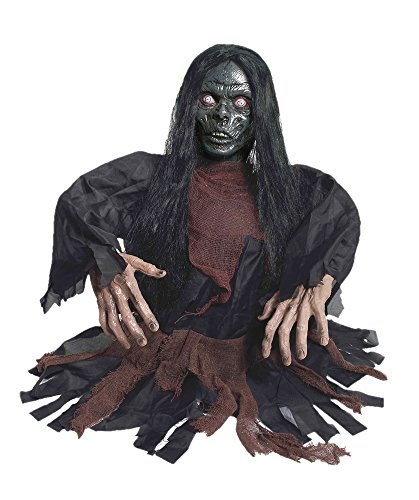 Groundbreaker Zombie (Life-Size Female Zombie Groundbreaker Decoration Prop)