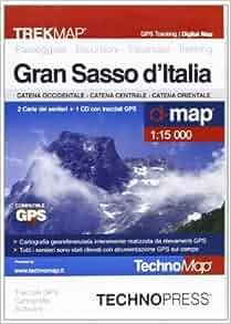 Gran Sasso d'Italia. Mappa: 9788889429723: Amazon.com: Books