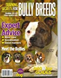 img - for Training Secrets for Bully Breeds Magazine Volume 9 (Popular Dog Series, 9) book / textbook / text book