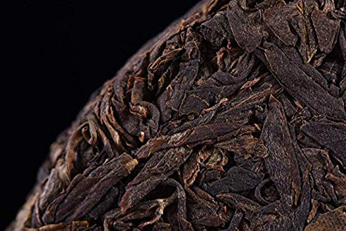 2005 Yunnan Gaoxiang dry warehouse old tea clearance sale [Xigui ancient tea mountain] Xigui pure material ancient tree Pu'er tea old tea taste no different taste high cost value old tea88.18OZ 12.59 by NanJie (Image #2)