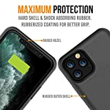 Alpatronix iPhone 11 Pro Battery Case, 4200mAh Slim Portable Protective Extended Charger Cover with Qi Wireless Charging Compatible with iPhone 11 Pro (5.8 inch) BXXI Pro