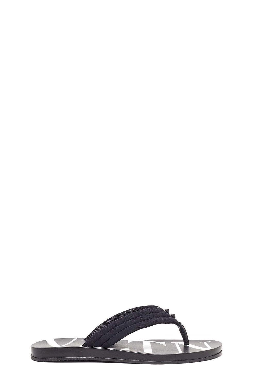 - VALENTINO Men's RY2S0B56TQF0NI Black Rubber Sandals