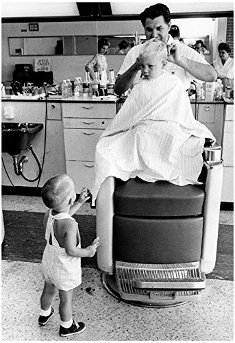 Kids Haircuts 1963 Archival Photo Poster 13 x 19in