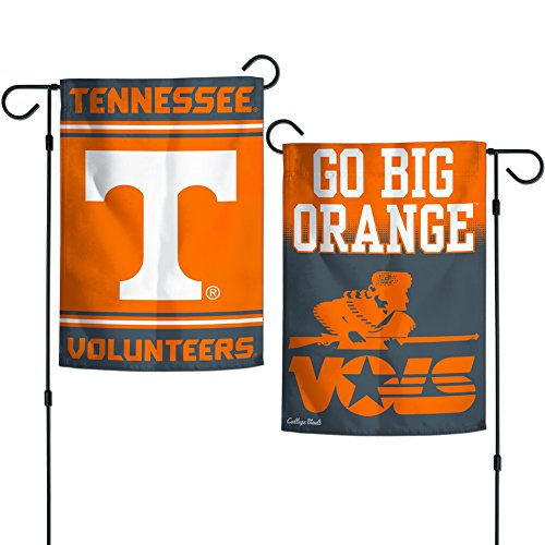 "Elite Fan Shop Tennessee Volunteers Garden Flag 12.5""x18"" - Orange"