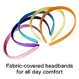 Goody Girls Classics Fabric Headband, 5 Count