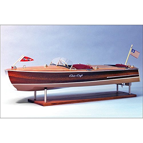 1949 Chris-Craft Racing Runabout Wooden Boat Kit, 1/8 Scale -