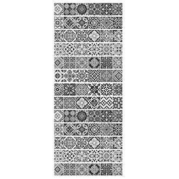 TOOGOO 13Pcs 3D Autocollant Escalier Geometrique Adhesif Maison Deco