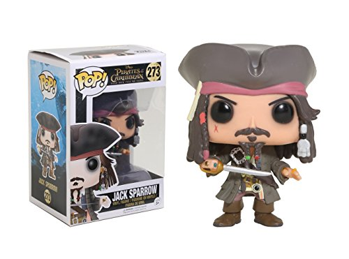 Funko POP Disney Pirates of The Caribbean Jack Sparrow Action Figure ()