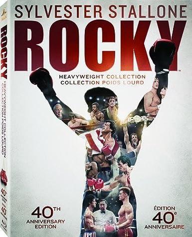Rocky Heavyweight Collection 40Th Anniversary 6 Blu-Ray Edizione: Stati Uniti Reino Unido Blu-ray: Amazon.es: Sylvester Stallone, Brigitte Nielsen, Burt Young, Milo Ventimiglia, Antonio Tarver, Sage Stallone, Carl Weathers, Mr. T, Burgess Meredith,