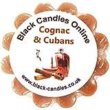 Black Candles Wax Tart Melt - Cognac and Cubans Fragrance by Black Candles Online