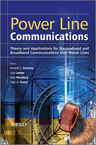 Power Line Communications  Theory And Applications For Narrowband And Broadband Communications Over Power Lines
