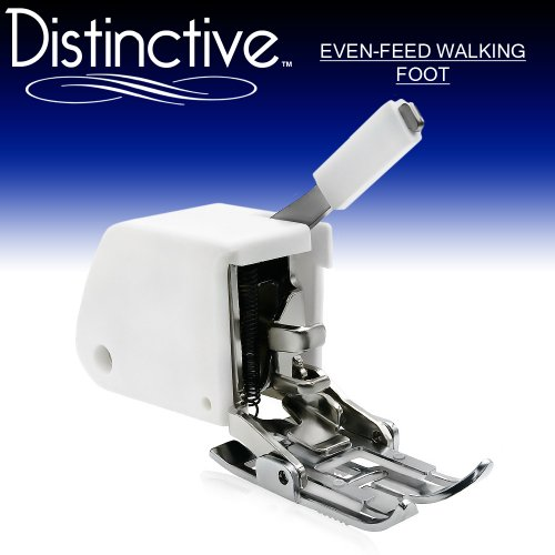 Distinctive perhaps Feed Walking Sewing system Presser 12 inches - satisfies All Low Shank (Top-Loading Drop-In Bobbin Machines Only) Singer, Brother, Babylock, Janome, White, Juki, New Home, Necchi, Elna + More!