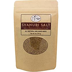 Svanuri Salt - All Natural Hand Made Great Georgian Cuisine Seasoning (6oz)