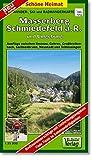 Masserberg, Schmiedefeld a. R. und Umgebung 1 : 35 000. Wander-, Ski- und Radwanderkarte: Ausfluge zwischen Ilmenau, Gehren, Großbreitenbach, ... mit Entfernungsangaben in Kilometern