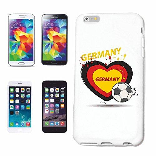 """cas de téléphone iPhone 6+ Plus """"FOOTBALL FOOTBALL Allemagne 2018 Coupe du Monde ALLEMAGNE CHAMPION DU MONDE RUSSIE RUSSIE demi-finale QUARTS DE FINALE"""" Hard Case Cover Téléphone Covers Smart Cover po"""