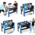 MD Sports 48 Inch 4-IN-1 Swivel Combo Game Table