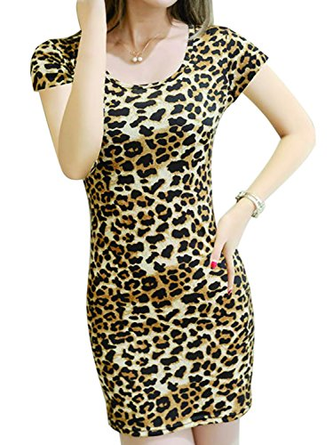 cheetah dress - 2