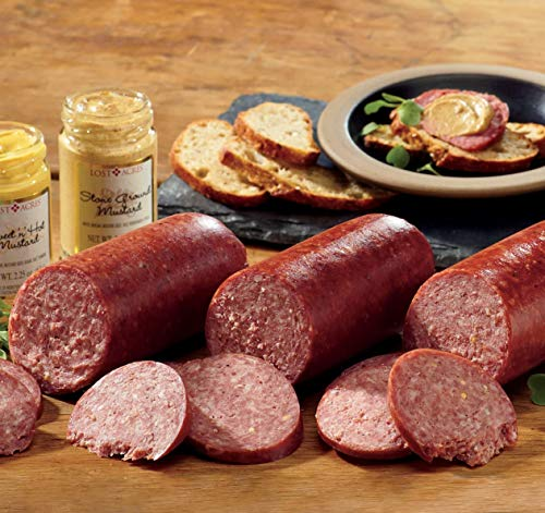 Wild Game Sausage Gift Assortment from The Wisconsin ()