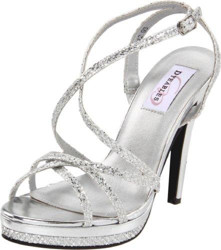 Platform Glitter Women Dyeables Silver Bryce TyBY71w8qx