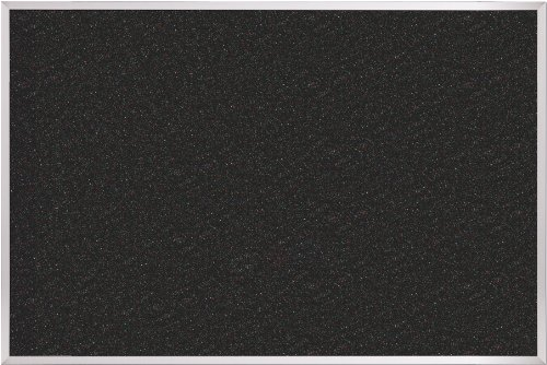 Best-Rite Retire Rubber-Tak Tackboard, Aluminum Trim, 2 x 3 Feet (320AB-105)