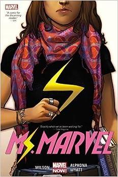 Image result for ms marvel hardcover