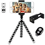 Hi-tec Octopus Style Portable and Adjustable Tripod Stand Holder for iPhone, Cellphone,Camera