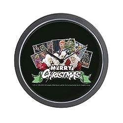 CafePress - I Love Lucy: Christmas - Unique Decorative 10 Wall Clock