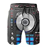 Yesunnye Men's Swimming Trunks Digital Dj