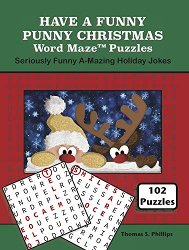 Christmas Jokes And Puns.Have A Funny Punny Christmas Word Maze Puzzles Seriously