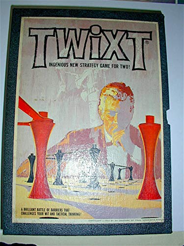 Twixt; Ingenious New Strategy Game For Two