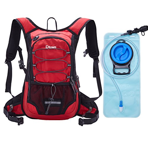 Hydration Backpack,Camel Pack Water Backpack Lightweight 2L Women Hydration Backpack for men Cycling Kids Small Water Pack Red