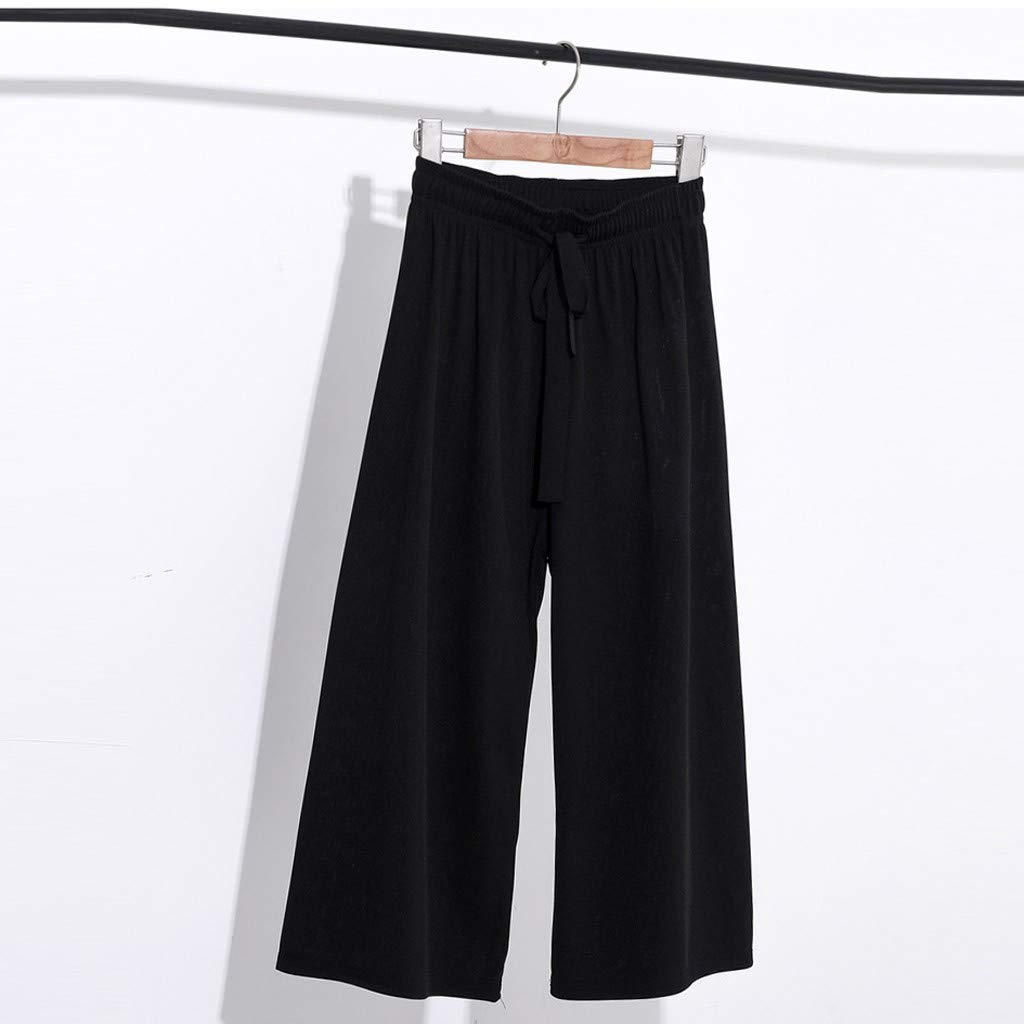 SUDADY Pantalón Mujer Pierna Larga Moda Pantalones Pantalones ...