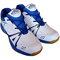 ARYANS Womens Synthetic Super Duper Badminton Shoes