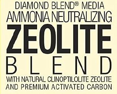 MarineLand Ammonia neutralizing zeolite blend aquarium
