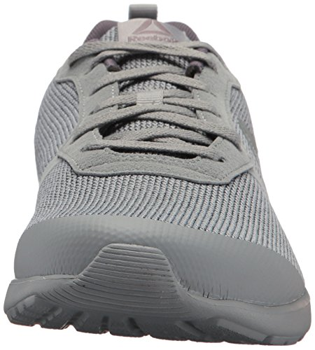 Reebok Mens Foster Flyer Running Shoe Flint Grey/Ash Grey/White/Baseball Grey zLbCl9P6