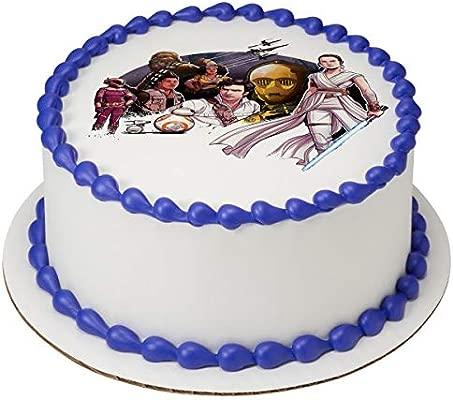 Star Wars Episode 9 Resistance Edible Cake Image Topper